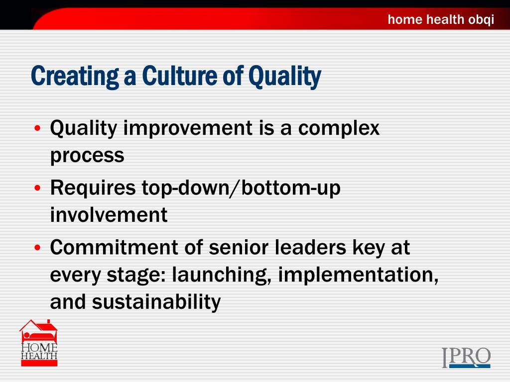Creating a Culture of Quality