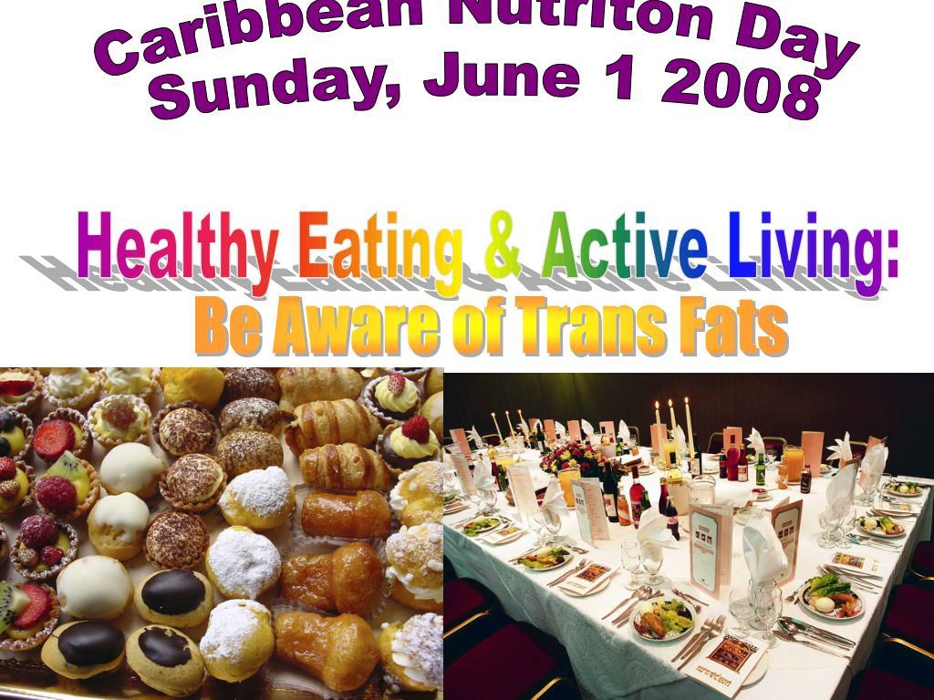 Caribbean Nutriton Day