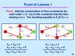 proof of lemma 1