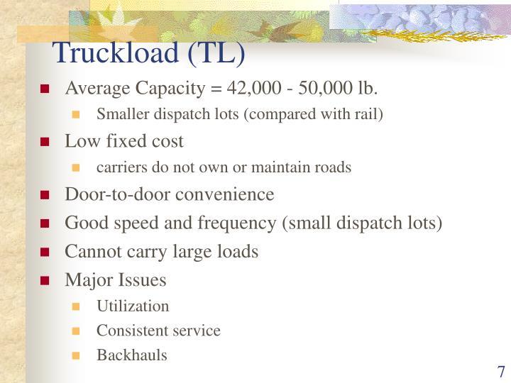 Truckload (TL)