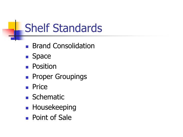Shelf Standards