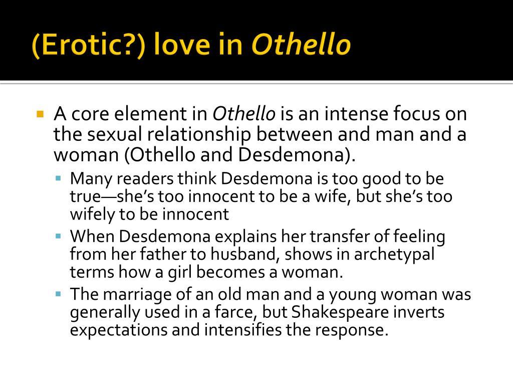 (Erotic?) love in