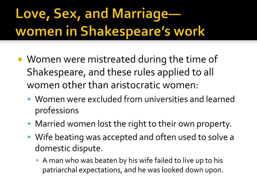 Love, Sex, and Marriage—
