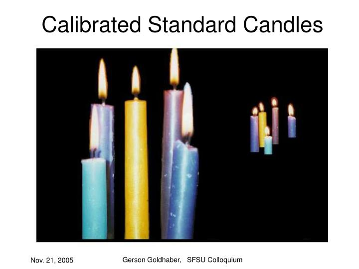 Calibrated standard candles