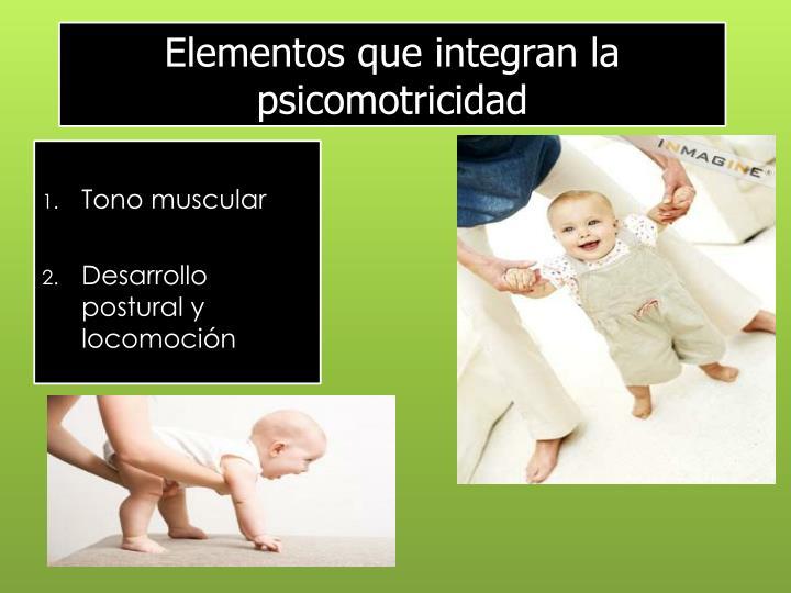 Elementos que integran la psicomotricidad