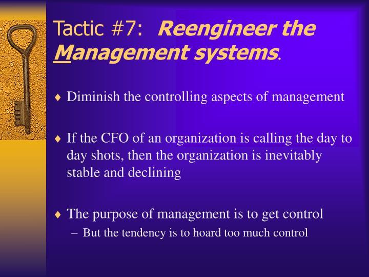 Tactic #7: