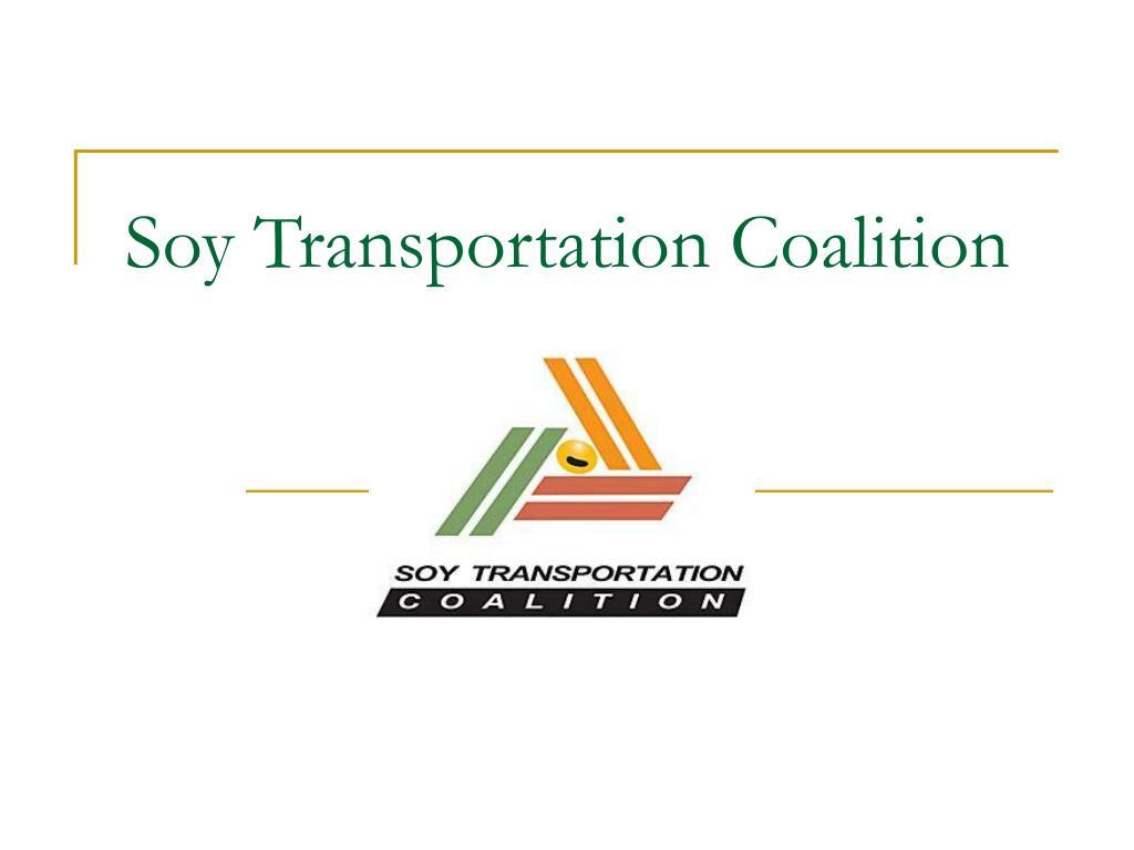 Soy Transportation Coalition