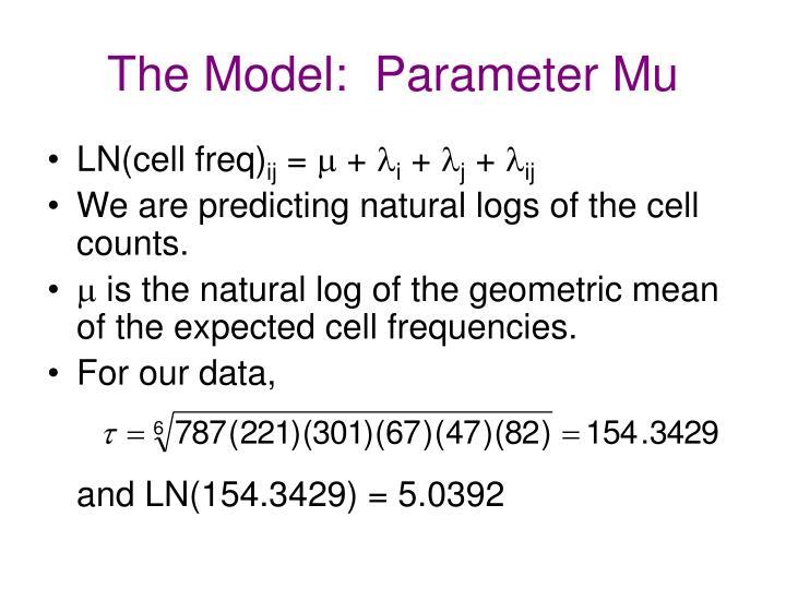 The Model:  Parameter