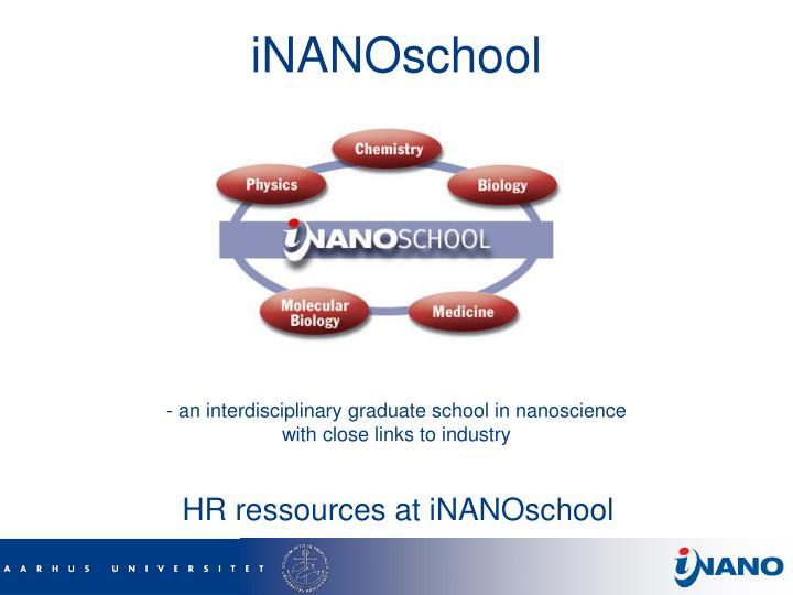 iNANOschool