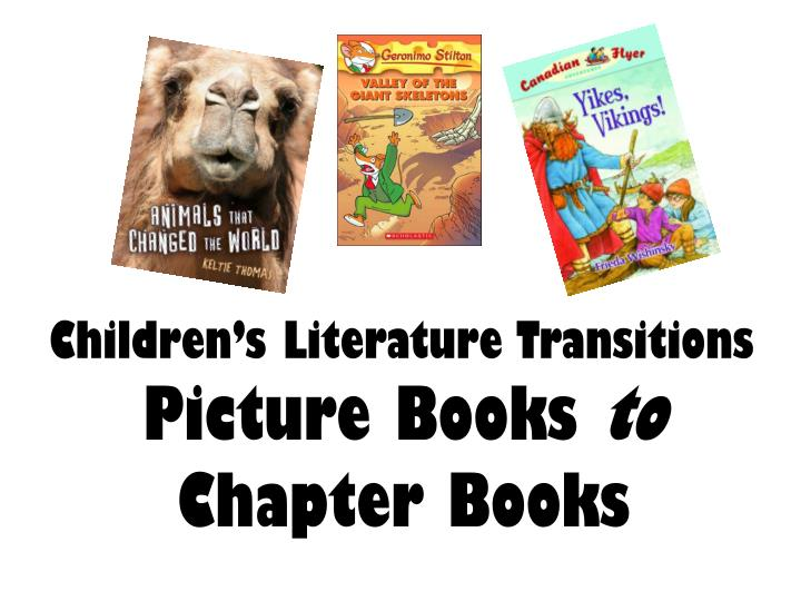 Children's Literature Transitions