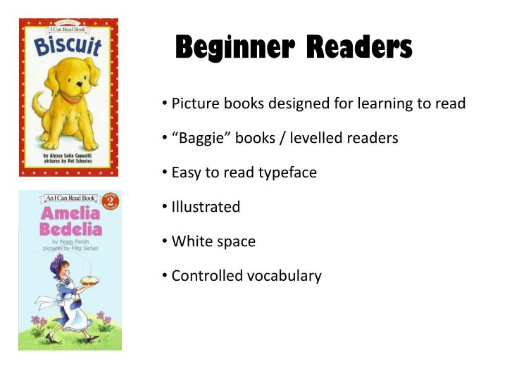Beginner Readers