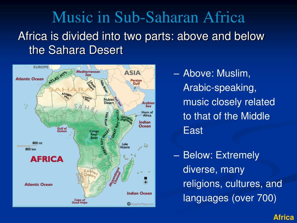Music in Sub-Saharan Africa