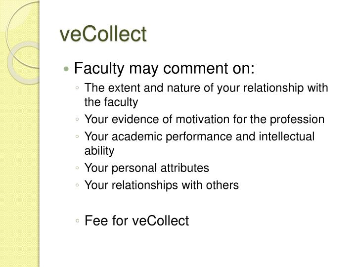 veCollect