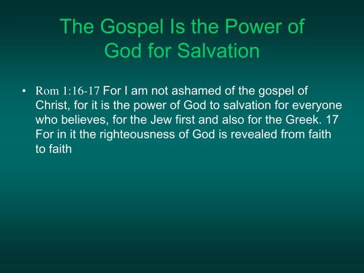 Rom 1:16-17
