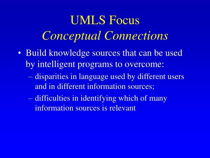 UMLS Focus