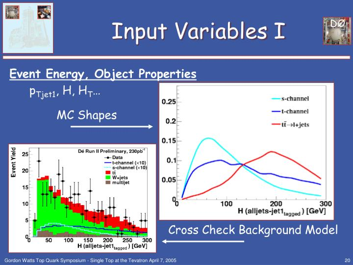 Input Variables I
