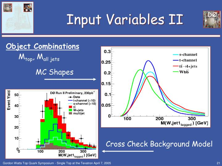 Input Variables II