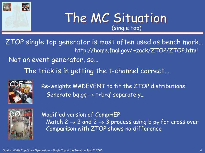 The MC Situation