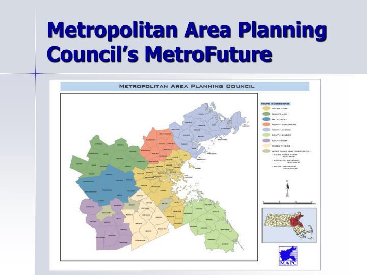 Metropolitan Area Planning Council's MetroFuture