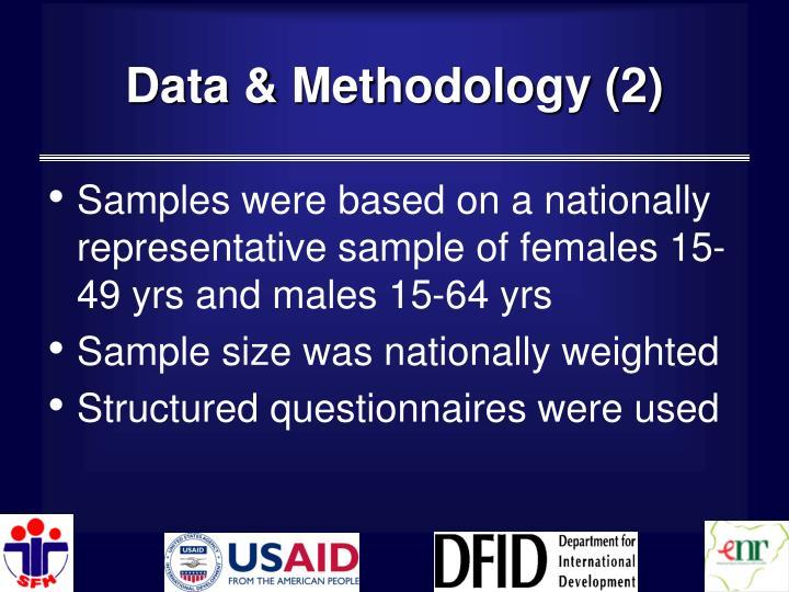 Data & Methodology (2)