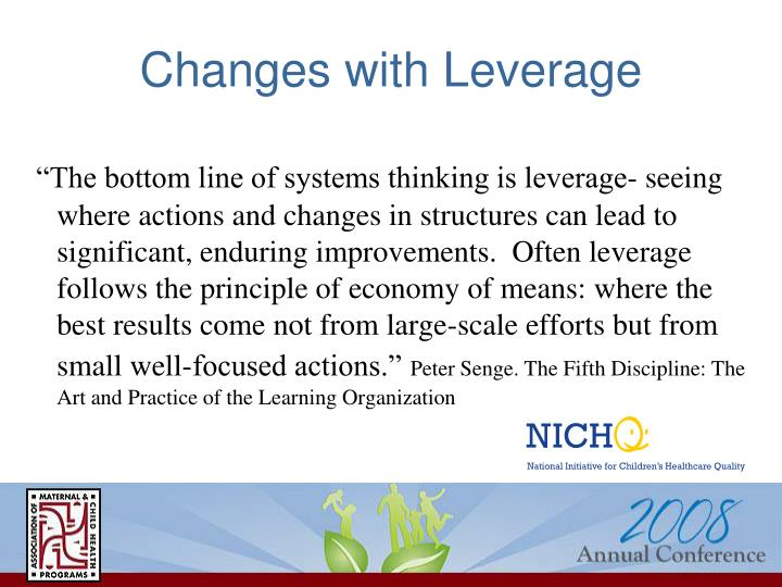 Changes with Leverage