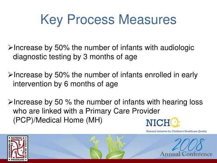 Key Process Measures