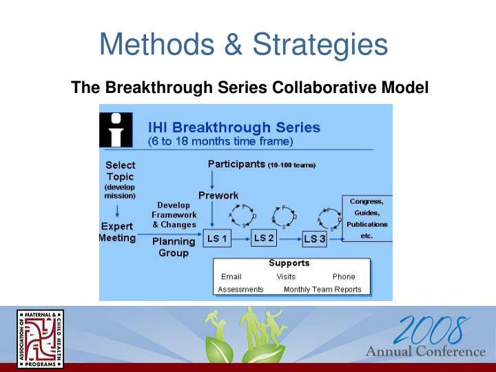 Methods & Strategies