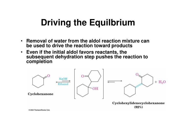 Driving the Equilbrium