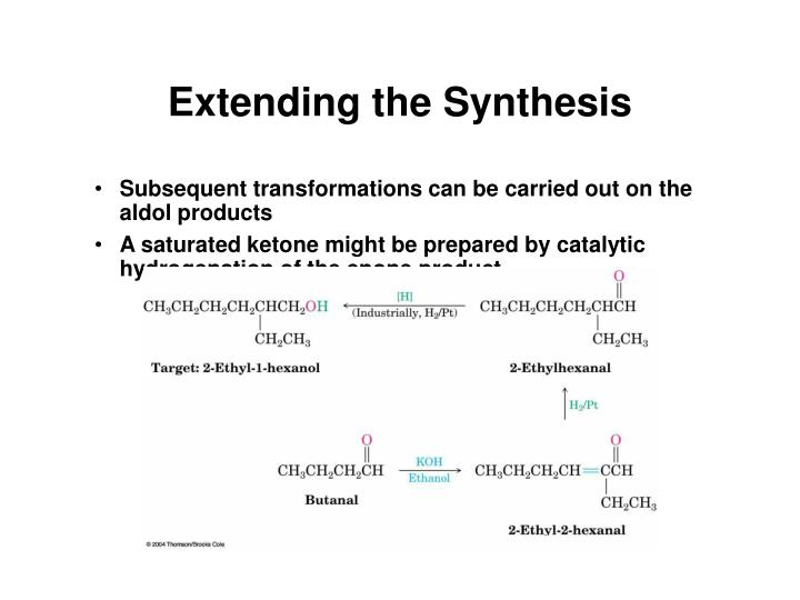 Extending the Synthesis