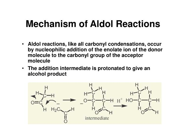 Mechanism of Aldol Reactions
