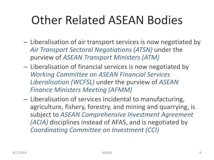 Other Related ASEAN Bodies