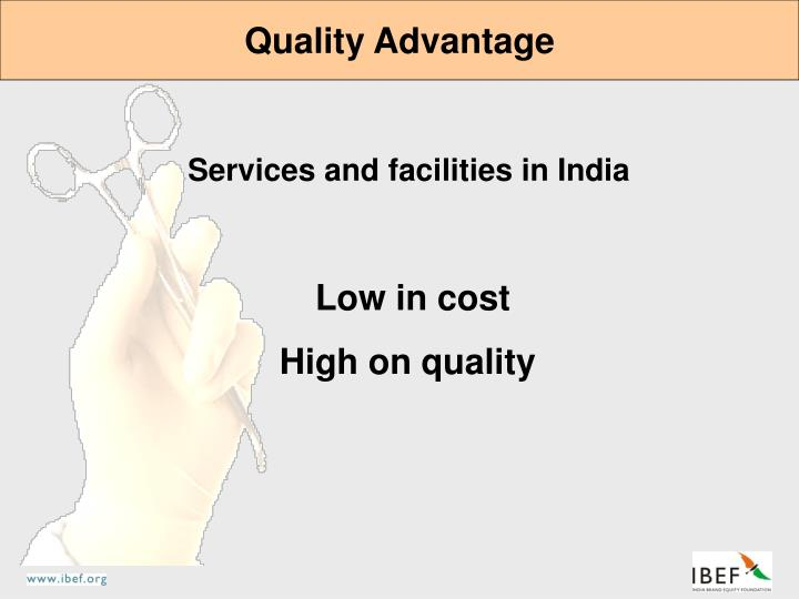 Quality Advantage