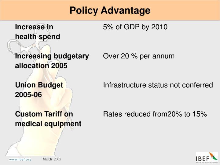 Policy Advantage