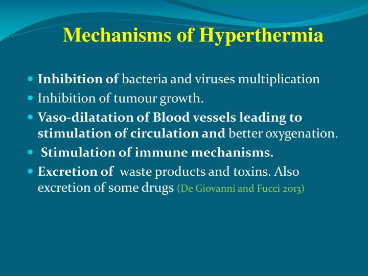 Mechanisms of Hyperthermia