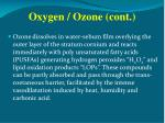 oxygen ozone cont