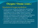 oxygen ozone cont3