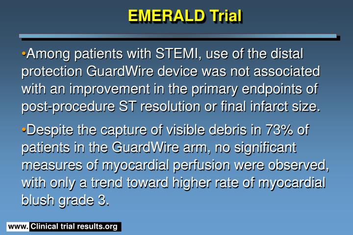 EMERALD Trial