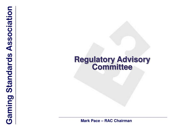 Regulatory Advisory Committee
