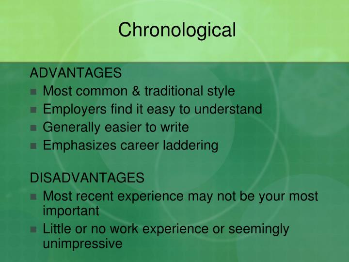 Chronological