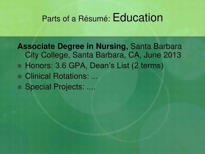 Associate Degree in Nursing,