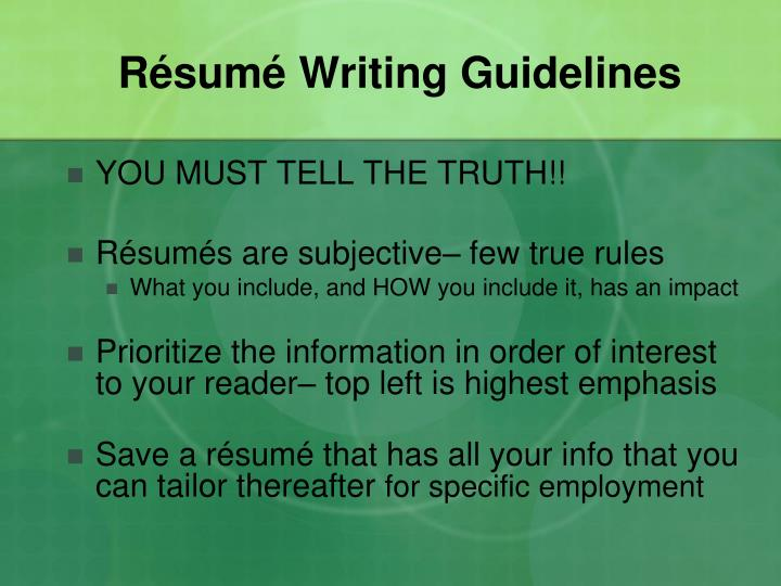 R sum writing guidelines