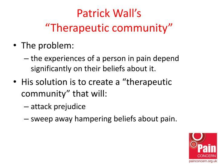 Patrick Wall's