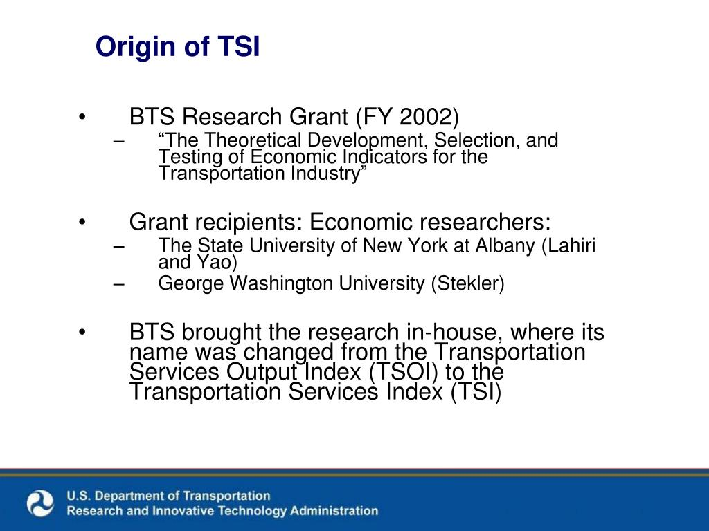 Origin of TSI