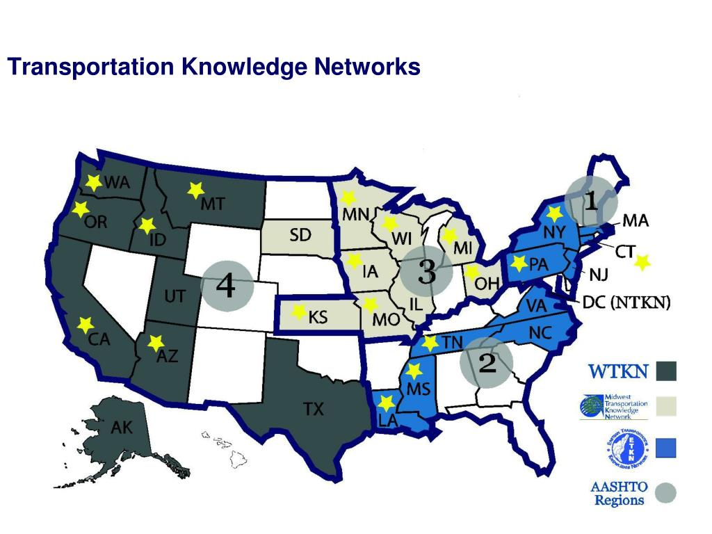 Transportation Knowledge Networks