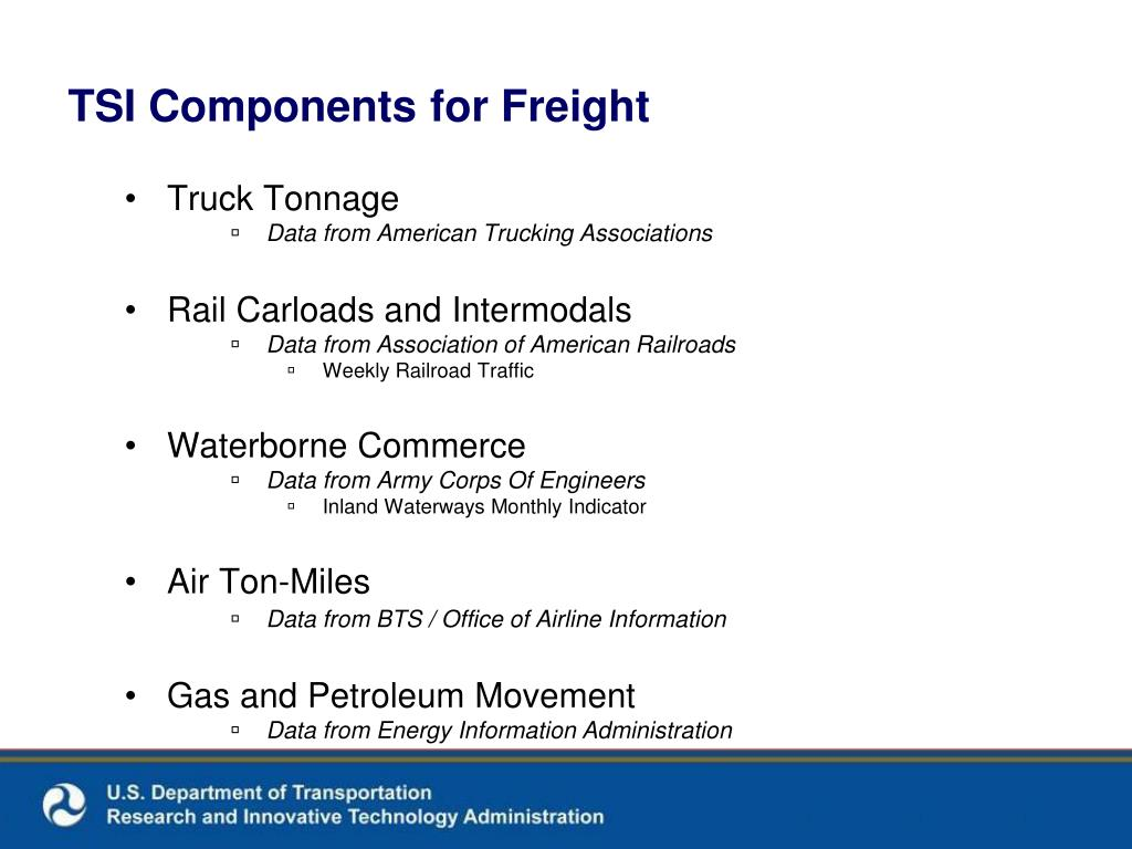 TSI Components for Freight