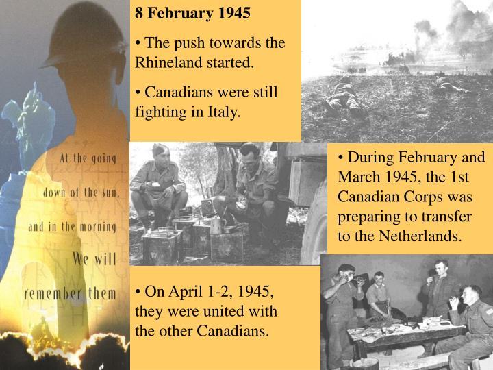 8 February 1945