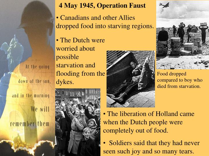 4 May 1945, Operation Faust