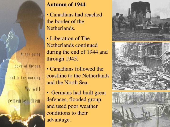 Autumn of 1944