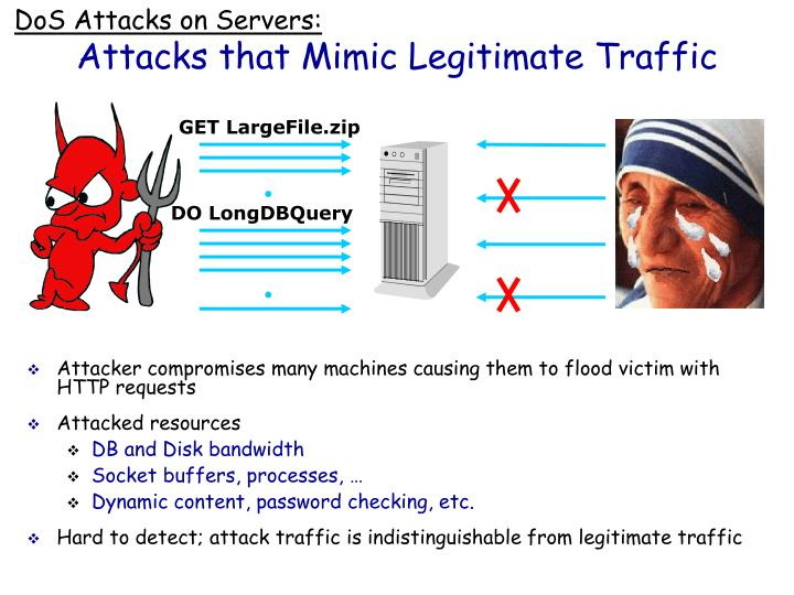 DoS Attacks on Servers: