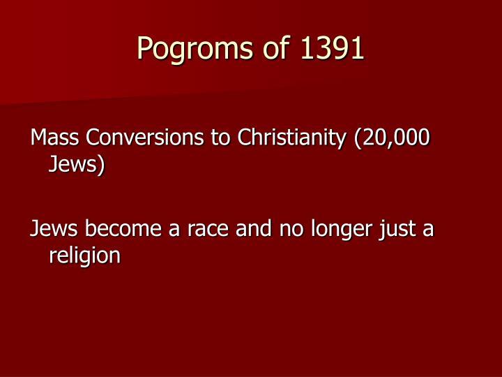 Pogroms of 1391